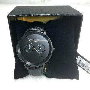 Ted Baker Mens Black Watch NWT